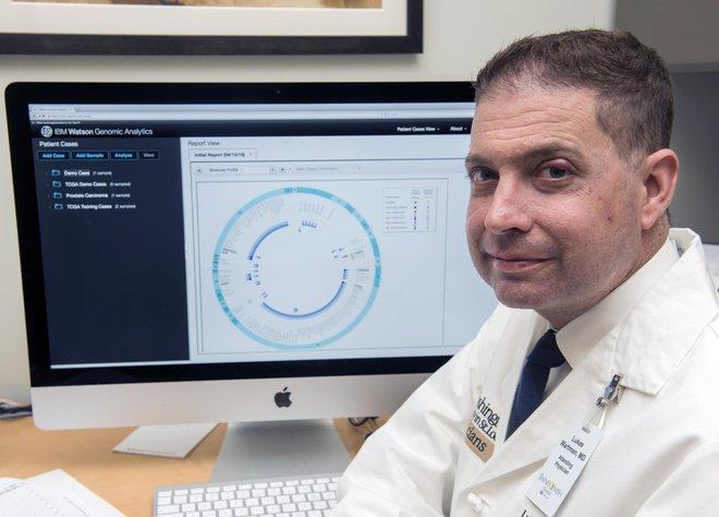 Lukas Wartman và phân tích mã di truyền đã cứu sống anh năm 2012