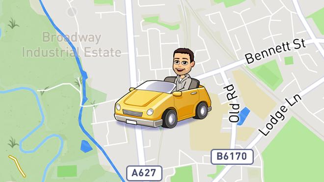 Bitmoji trong Snapchat sử dụng thông tin từ cảm biến gia tốc