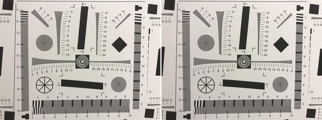 Định dạng HEIF (bên trái) nặng 1,2MB, định dạng JPEG (bên phải) nặng 2,5MB.