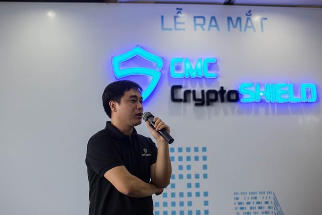 Ông Triệu Trần Đức - Tổng giám đốc CMC InfoSec
