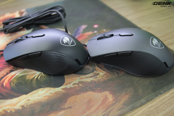 Nhìn chung thì Minos X1 (trái) trông chẳng khác Minos X3 (phải) là bao