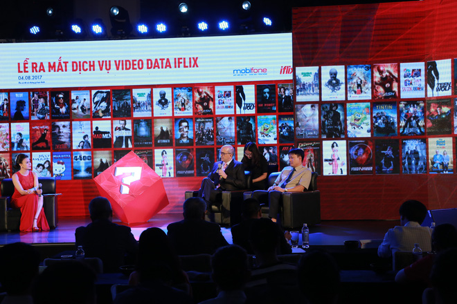 MobiFone đã công bố hợp tác cùng Tập đoàn iflix toàn cầu ra mắt dịch vụ video data iflix