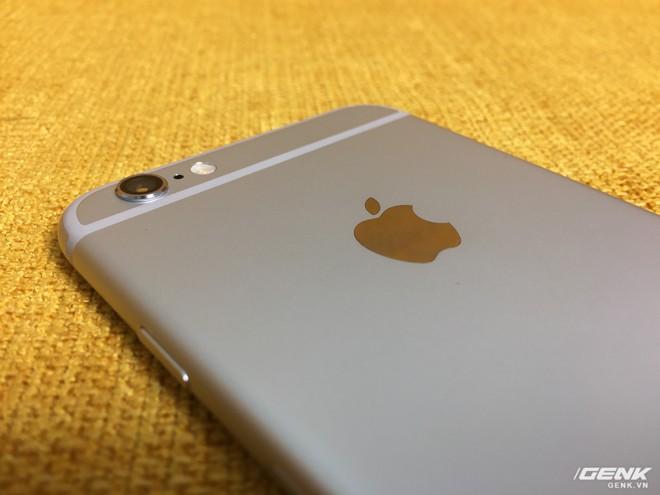 Camera chính 8MP của iPhone 6. Bức hình này được chụp bằng một chiếc iPhone 6 khác.