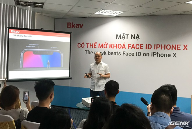 Ông Nguyễn Tử Quảng nói BKAV đã thấy được lỗ hổng của Face ID ngay từ khi Apple giới thiệu iPhone X hồi đâu tháng 9