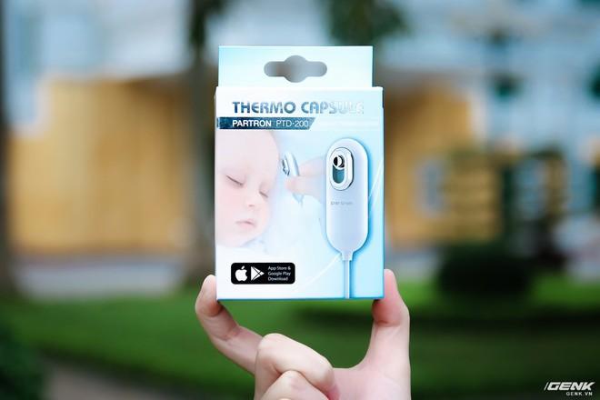 Trên tay nhiệt kế điện tử Partron PTD-200: Nhiệt kế bỏ túi đa năng đo nhiệt độ cơ thể trong nháy mắt - Ảnh 2.