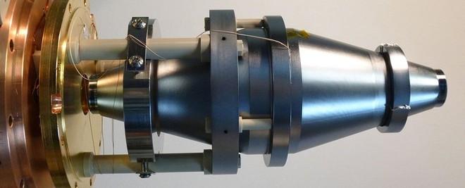 Bộ cộng hưởng silicon, chịu trách nhiệm tạo ra tia laser sắc nét nhất tính tới thời điểm hiện tại