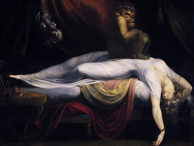 Bóng đè được miêu tả như một hiên tượng ma quỷ, cả trong văn hóa Phương Tây