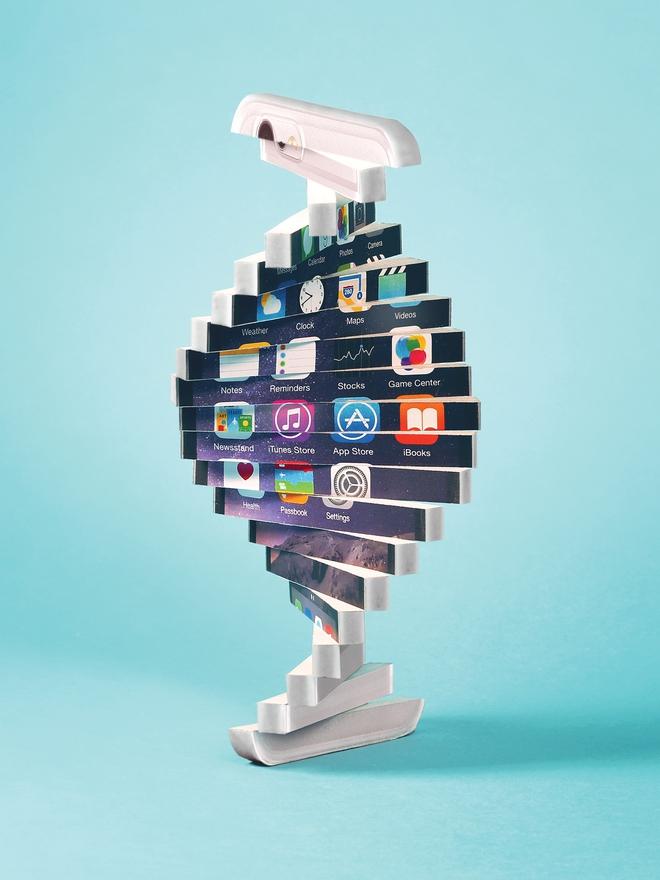 Tương lai của một App Store cho DNA, với hàng trăm ứng dụng bùng nổ khai thác gen của bạn