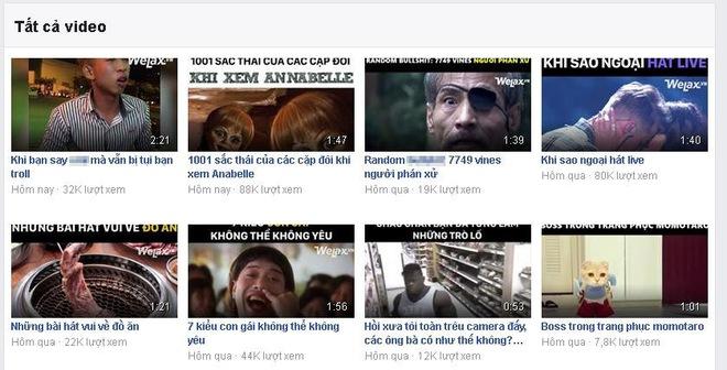 Số view của các video trong hai ngày qua của fanpage lớn tại Việt Nam đều sụt giảm mạnh.