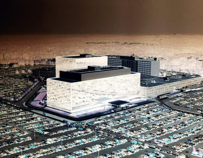 Tòa nhà trụ sở của Cơ quan An ninh Nội địa Mỹ NSA.