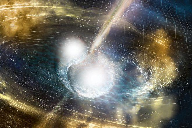 [Sự kiện lớn] Hai ngôi sao neutron va chạm mạnh, đem lại cho chúng ta vô vàn dữ liệu quan trọng, chứng minh lời tiên tri của Einstein hơn 100 năm trước - Ảnh 3.