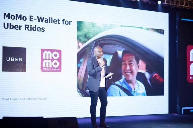 Người dùng có thể đặt xe Uber, thanh toán ngay trên ví điện tử MoMo từ ngày 1/1/2018 - Ảnh 2.