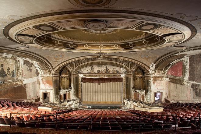 Những cung điện điện ảnh xưa của Mỹ.