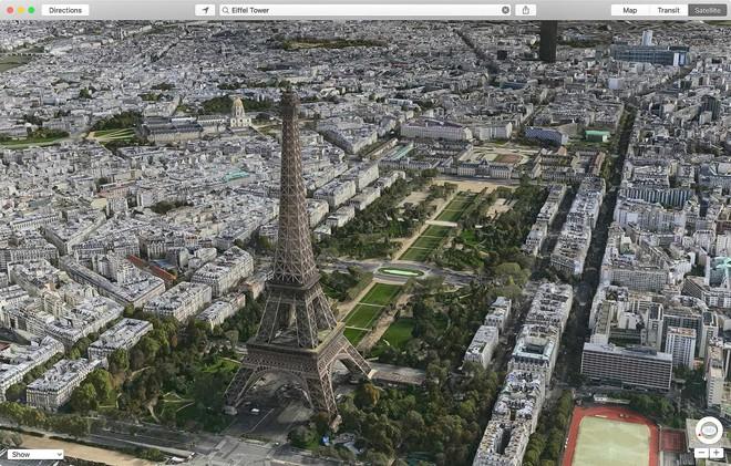 Tháp Eiffel, Pháp.