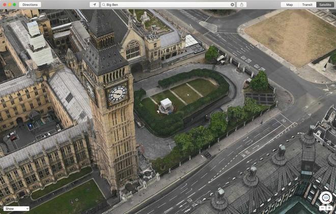 Đồng hồ Big Ben ở London.