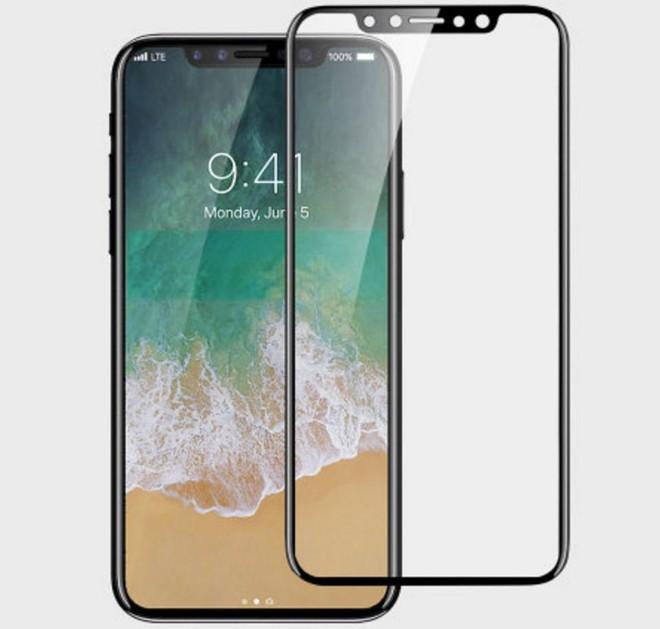 Tấm kính bảo vệ màn hình do MobileFun sản xuất cho iPhone 8.