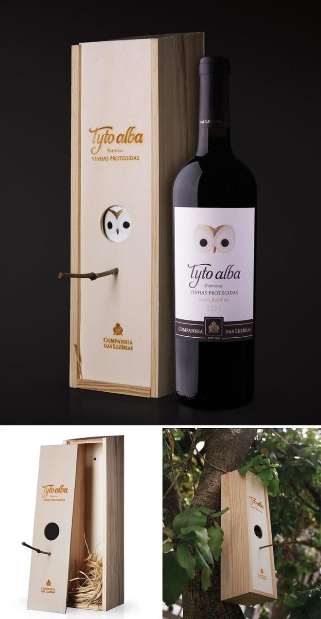 Chẳng phải sẽ khuyến khích người yêu chim mua thật nhiều rượu vang sao...?