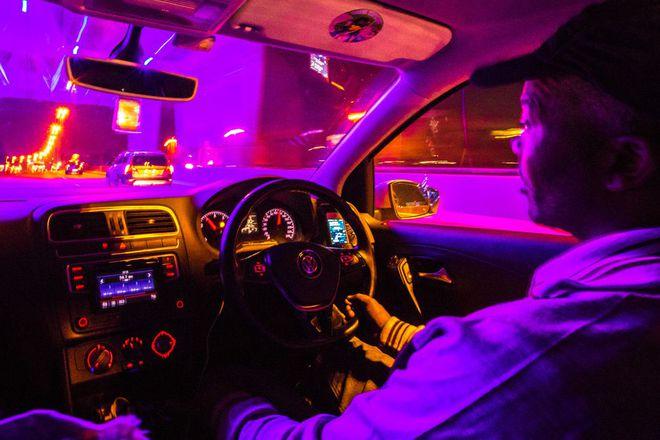 Tài xế Uber David Bhili