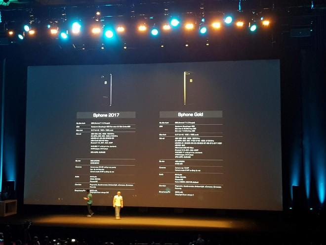 Cấu hình chi tiết của 2 phiên bản Bphone 2017.