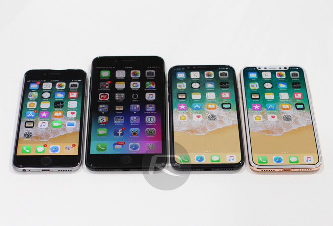 iPhone 6s, iPhone 7 Plus, iPhone X Black, Blus Gold