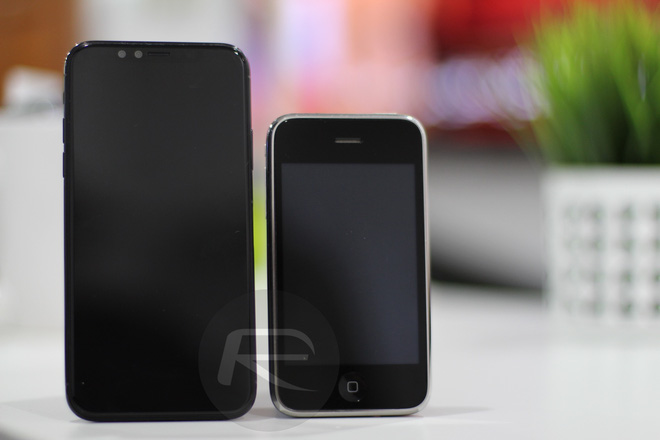 iPhone X với iPhone 3G/3Gs