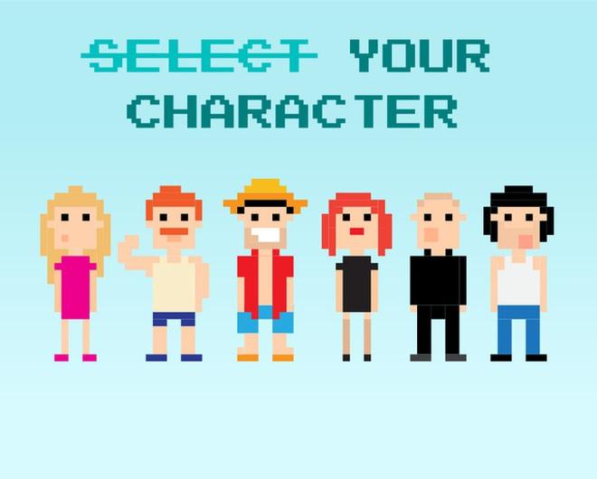 Chỉ có nhân vật của bạn chứ không có lựa chọn nhân vật của bạn
