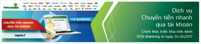 Vietcombank chính thức ra mắt tính năng chuyển tiền nhanh liên ngân hàng, hoạt động 24/7, kể cả dịp lễ, Tết - Ảnh 1.