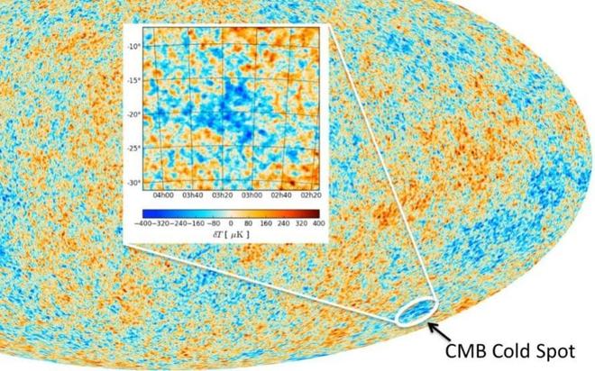 Liệu đây có phải là chứng cớ đầu tiên về việc có một vũ trụ khác đã va chạm với vũ trụ của chúng ta?