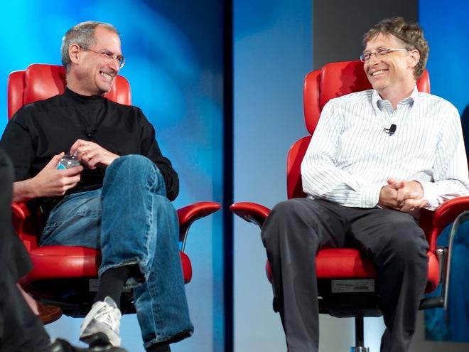 Steve Jobs hay Bill Gates đều rất ghét những lời chỉ trích.