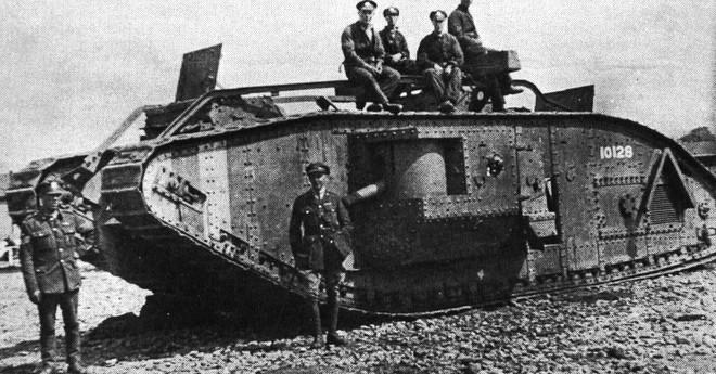 Chiếc xe tăng lần đầu tiên được giới thiệu trên chiến trường Somme
