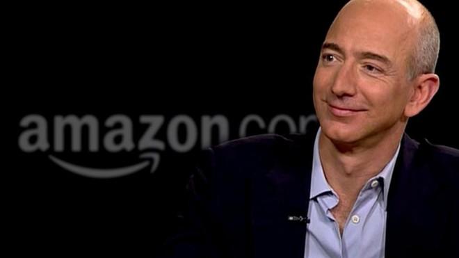 Chân dung Jeff Bezos