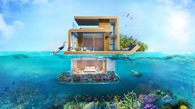 Ngôi nhà ở nằm ngay giữa biển, bạn có tin không?