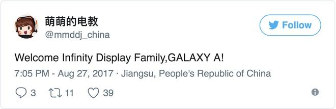 Chuyên gia tin tức cho biết dòng Galaxy A sẽ có màn hình vô cực tương tự Galaxy S8