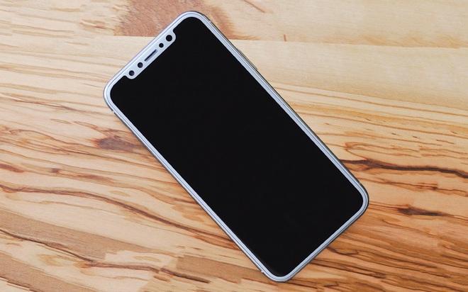 Viền màu trắng này chính là một trong những lý do khiến iPhone X bị ghét