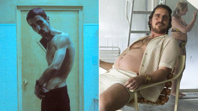 Việc Christian Bale - tắc kè hoa của làng điện ảnh, liên tục thay đổi ngoại hình để phù hợp với vai diễn
