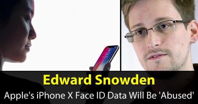 Snowden, người hùng lẫn kẻ tội đồ, lên tiếng về việc Face ID có thể bị lợi dụng