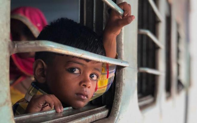 Một trong số hàng trăm bức ảnh của anh Austin Mann chụp người dân Ấn Độ ở tiểu bang Rajasthan.