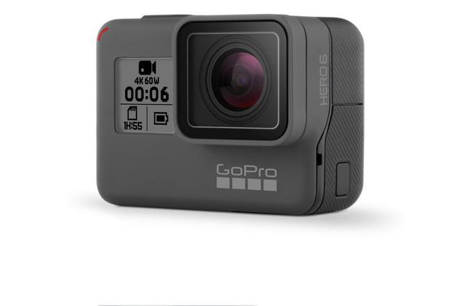 GoPro Hero 6 Black chính thức ra mắt, có thể quay video 4K tốc độ 60 fps, giá 500 USD - Ảnh 1.