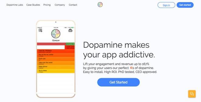 Khiến người dùng luôn muốn sử dụng ứng dụng là những gì Dopamine sẽ thực hiện
