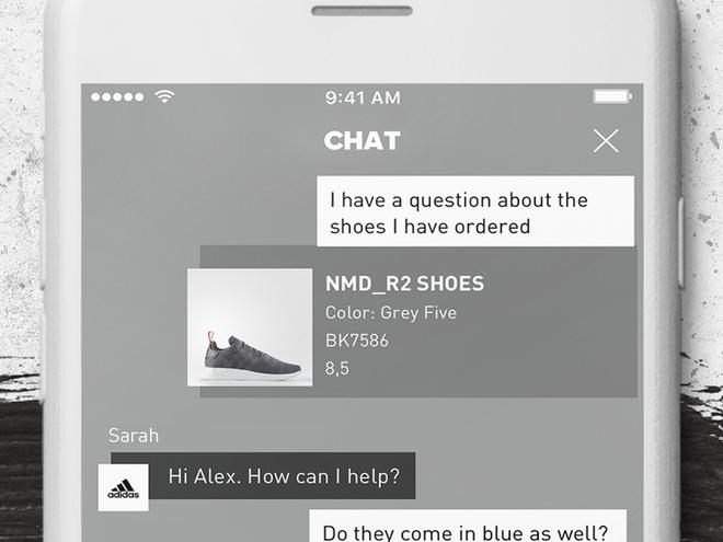 Ứng dụng mua sắm mới nhất của adidas được tích hợp AI để đọc vị khách hàng - Ảnh 2.