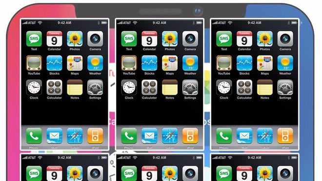 Chiếc iPhone X và iPhone 1 chắc chắn không phải đối thủ của nhau.