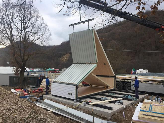 Căn nhà di động lắp ghép như đồ chơi: Chỉ mất 6 tiếng để hoàn thiện, rộng 27m2, chống được động đất với giá chỉ 750 triệu đồng - Ảnh 5.