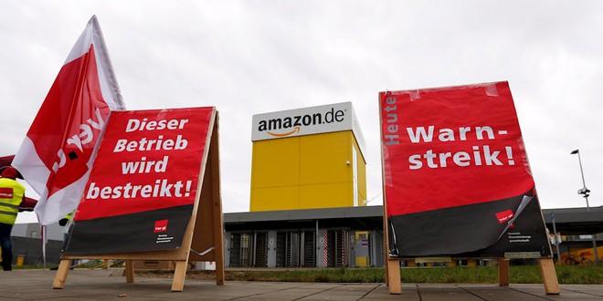 Hơn 500 công nhân Amazon đình công để được nhận thêm lương vào ngày Black Friday - Ảnh 1.