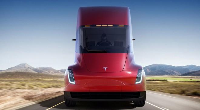Xe tải Tesla Semi sẽ có 3 phiên bản, với giá lần lượt 150.000 USD, 180.000 USD và 200.000 USD