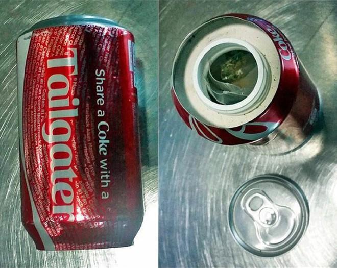 Từ những thứ nhỏ nhất như cần sa được giấu trong lon Coca...