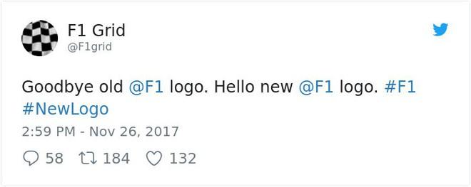 Giải đua xe Công thức 1 đổi logo sau 24 năm, không ngờ lại biến thành trò cười cho Internet - Ảnh 5.