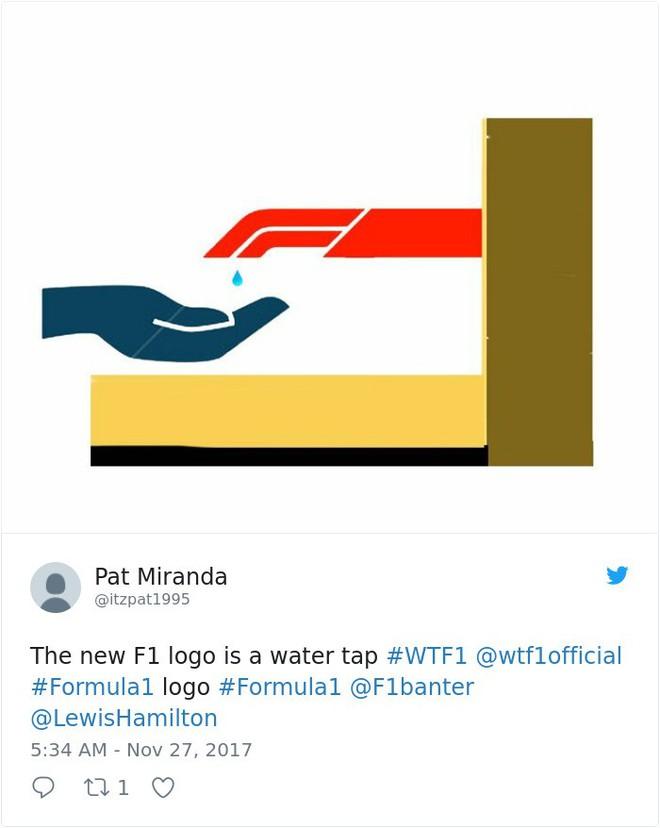 Giải đua xe Công thức 1 đổi logo sau 24 năm, không ngờ lại biến thành trò cười cho Internet - Ảnh 7.