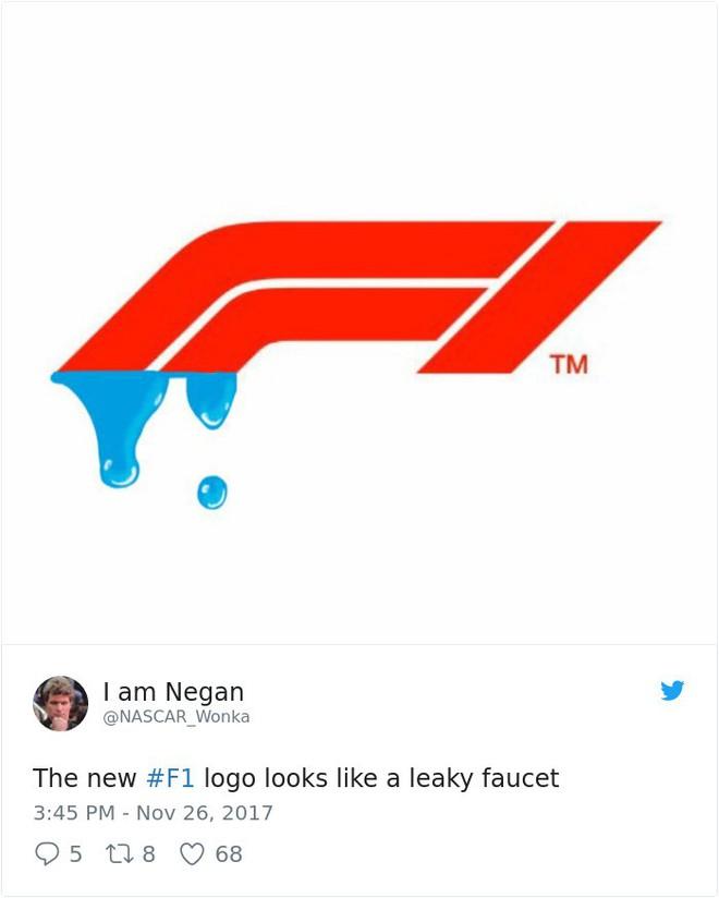 Giải đua xe Công thức 1 đổi logo sau 24 năm, không ngờ lại biến thành trò cười cho Internet - Ảnh 9.
