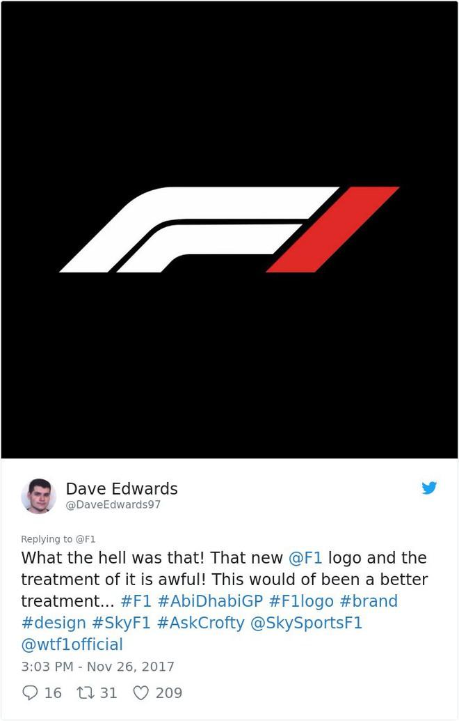 Giải đua xe Công thức 1 đổi logo sau 24 năm, không ngờ lại biến thành trò cười cho Internet - Ảnh 11.