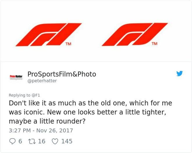 Giải đua xe Công thức 1 đổi logo sau 24 năm, không ngờ lại biến thành trò cười cho Internet - Ảnh 13.